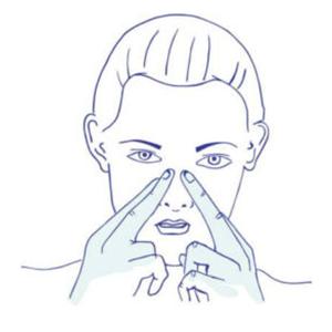 Ihmisen hengitys parempaa nenän kautta