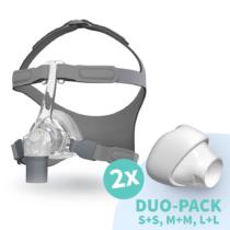 Fisher & Paykel Eson CPAP nenämaski käytössä
