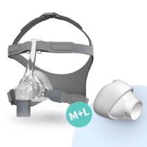 Fisher & Paykel Eson CPAP nenämaski käytössä02